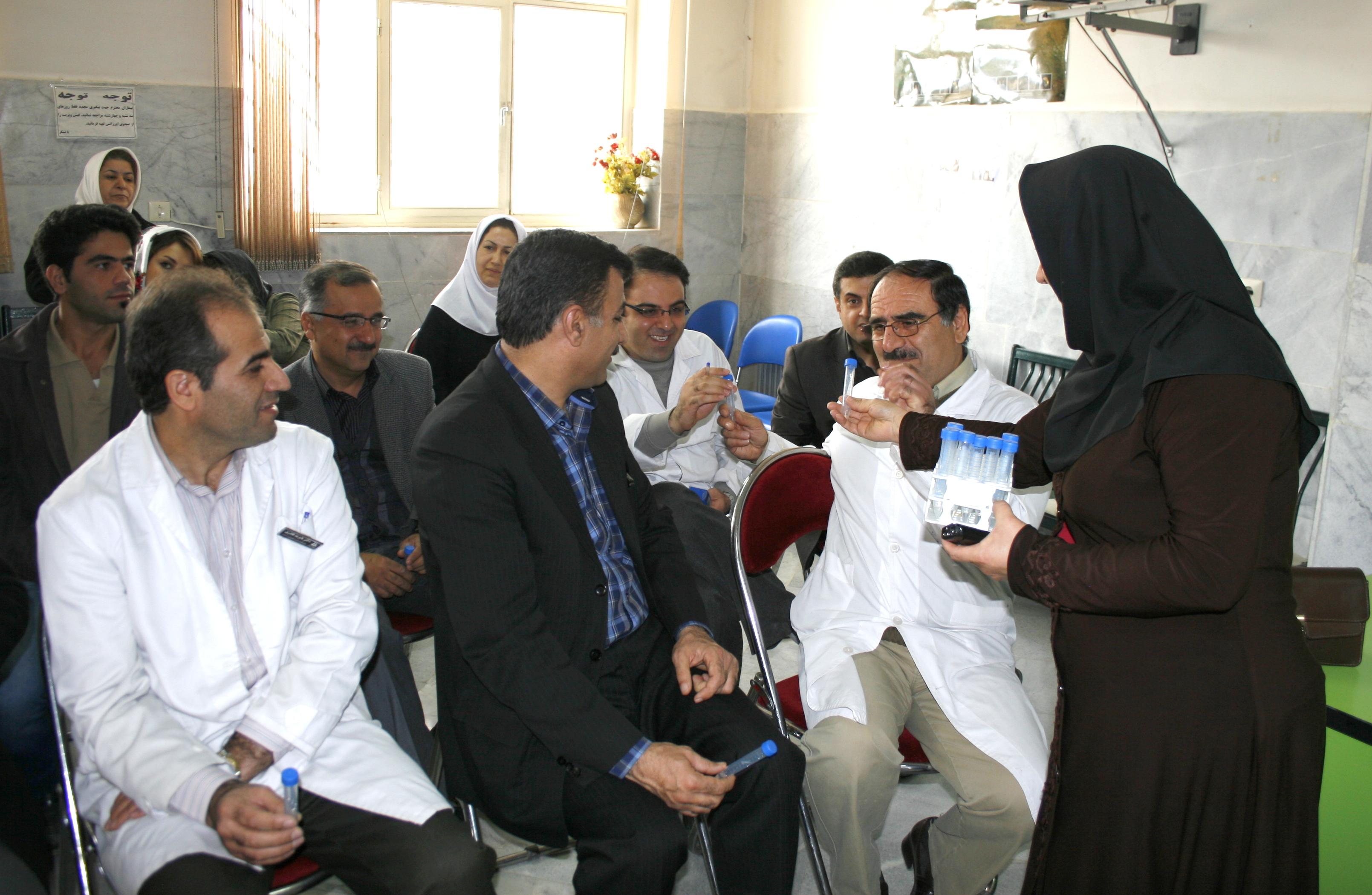 اولین سری اهدای سلولهای بنیادی در سنندج